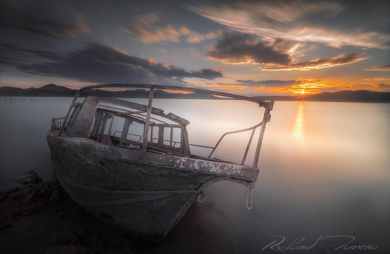 wrecked ship by richard toribio casares