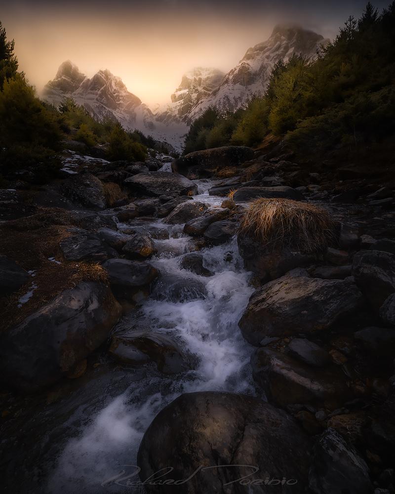 Golden Mountains by richard toribio casares