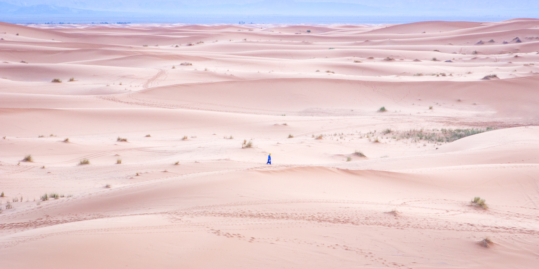 Saharan Walk by Matthew Paskin