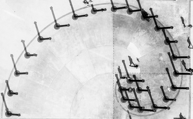 Fibonacci Walk by Matthew Paskin