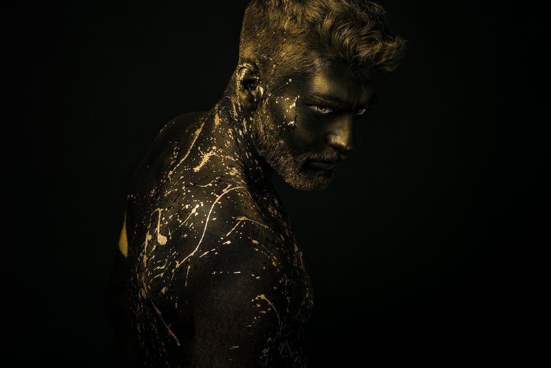 Golden splash  by Antony Gomes