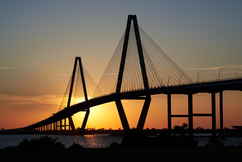 Sunset Bridge by Wheeler McGowan
