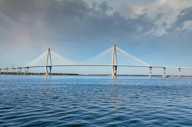 Arthur Ravenel Bridge Charleston SC by Wheeler McGowan