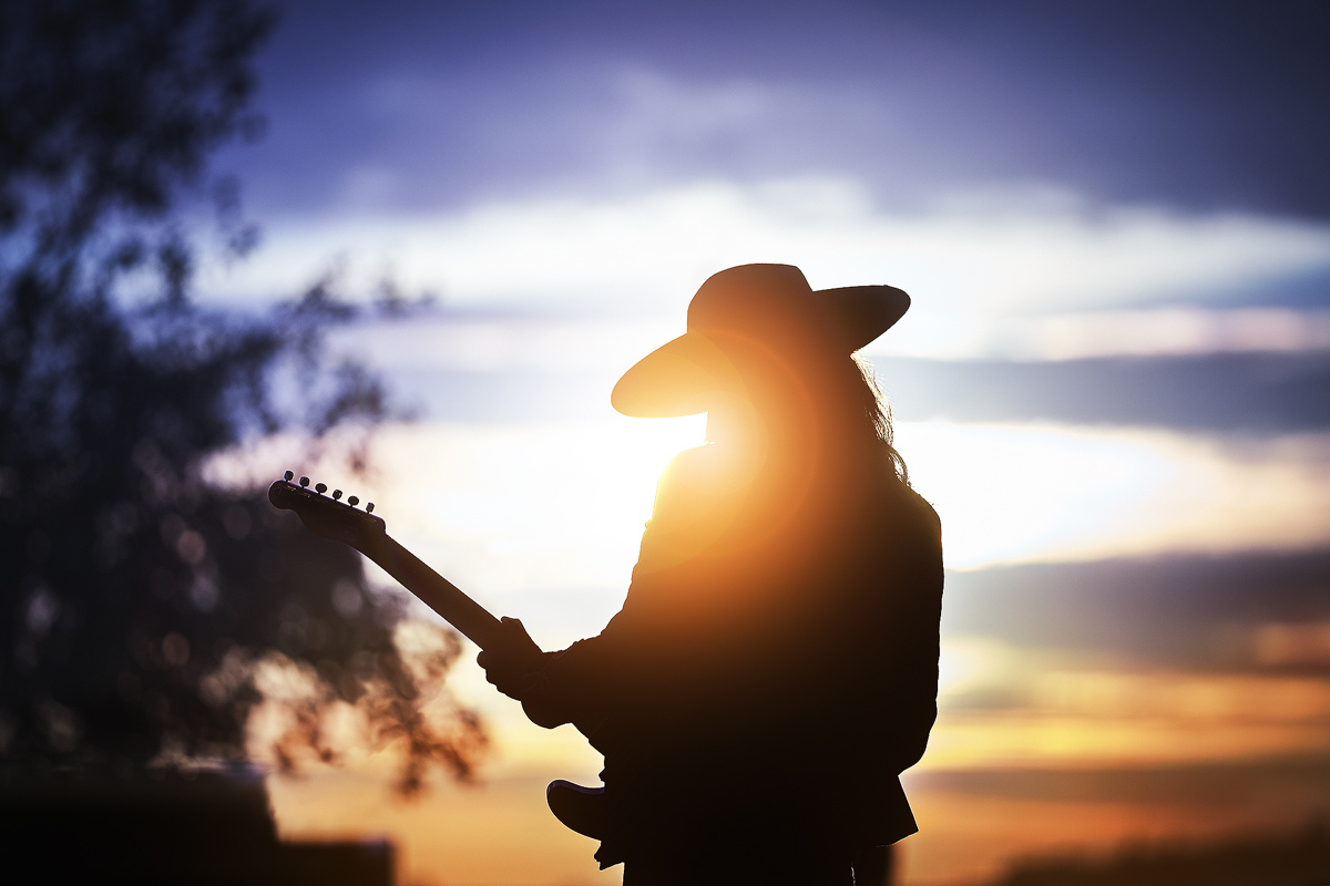 Blues at sunset by Rui Bandeira