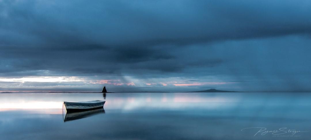 Rainy Dawn Over Matakatia by Ryno Steyn