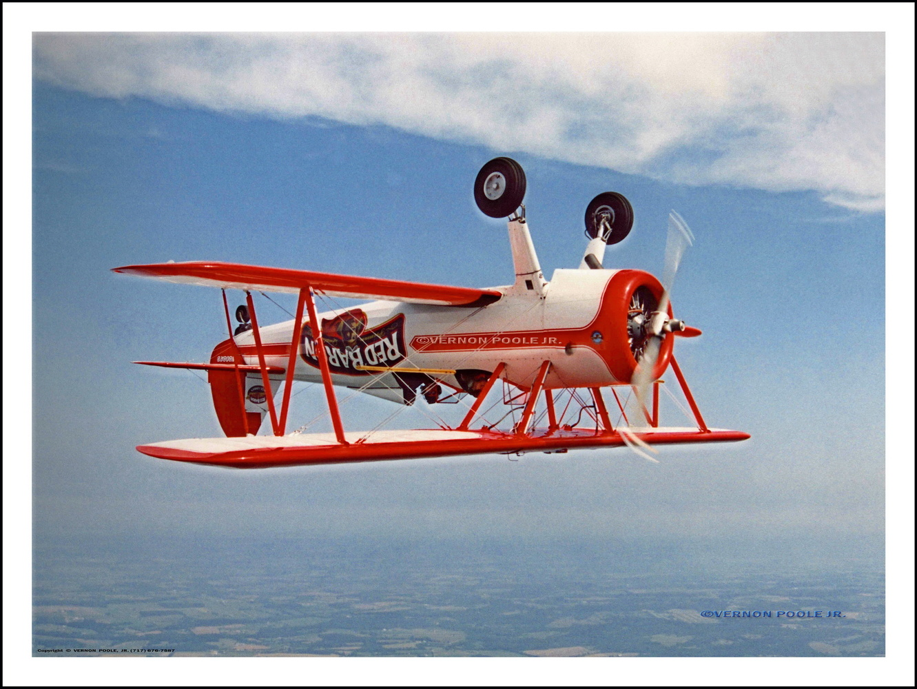Top of Loop, Red Baron by Vernon Poole