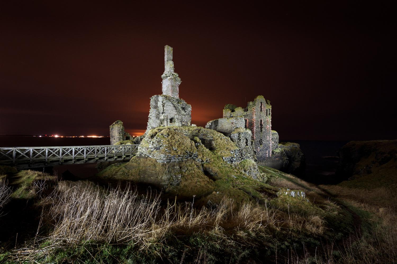 Castle Sinclair Girnigoe by Mark O'Neill