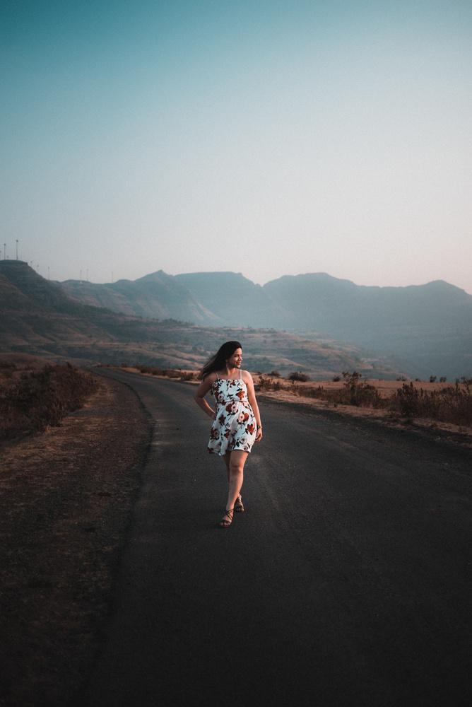 Portrait of a woman by Ashish Tamhane