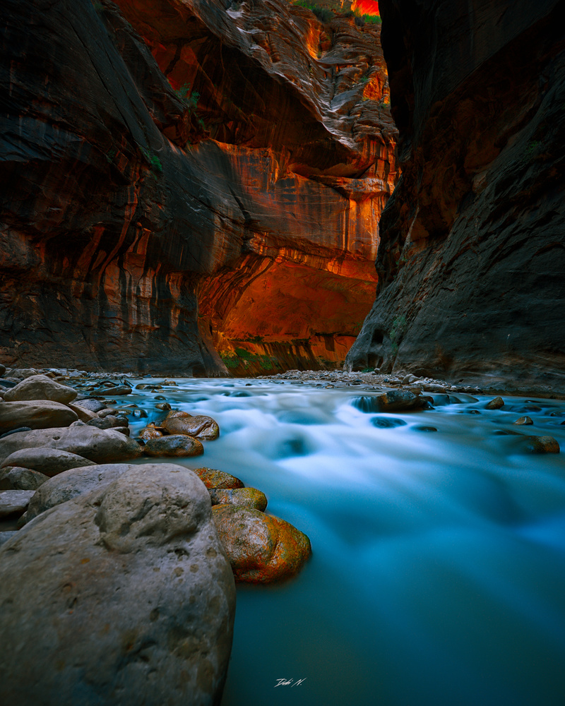 All trails lead to Zion. by Dubi N.