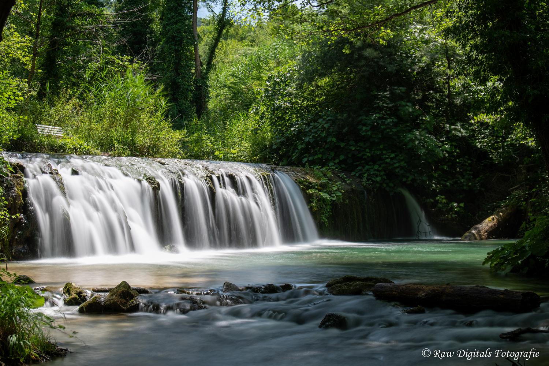 Cingoli Waterfall by Jurgen Westerheijden