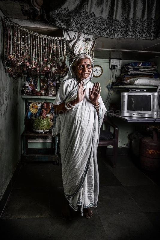 Indian Apparition by Joost van Baars