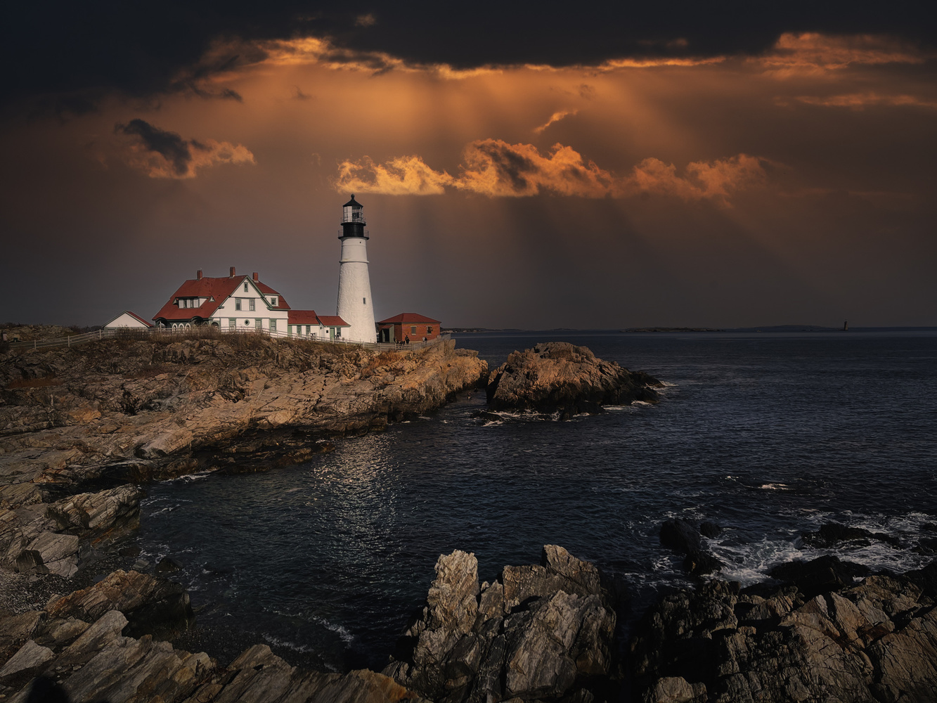 Portland lighthouse by Skyler Ewing