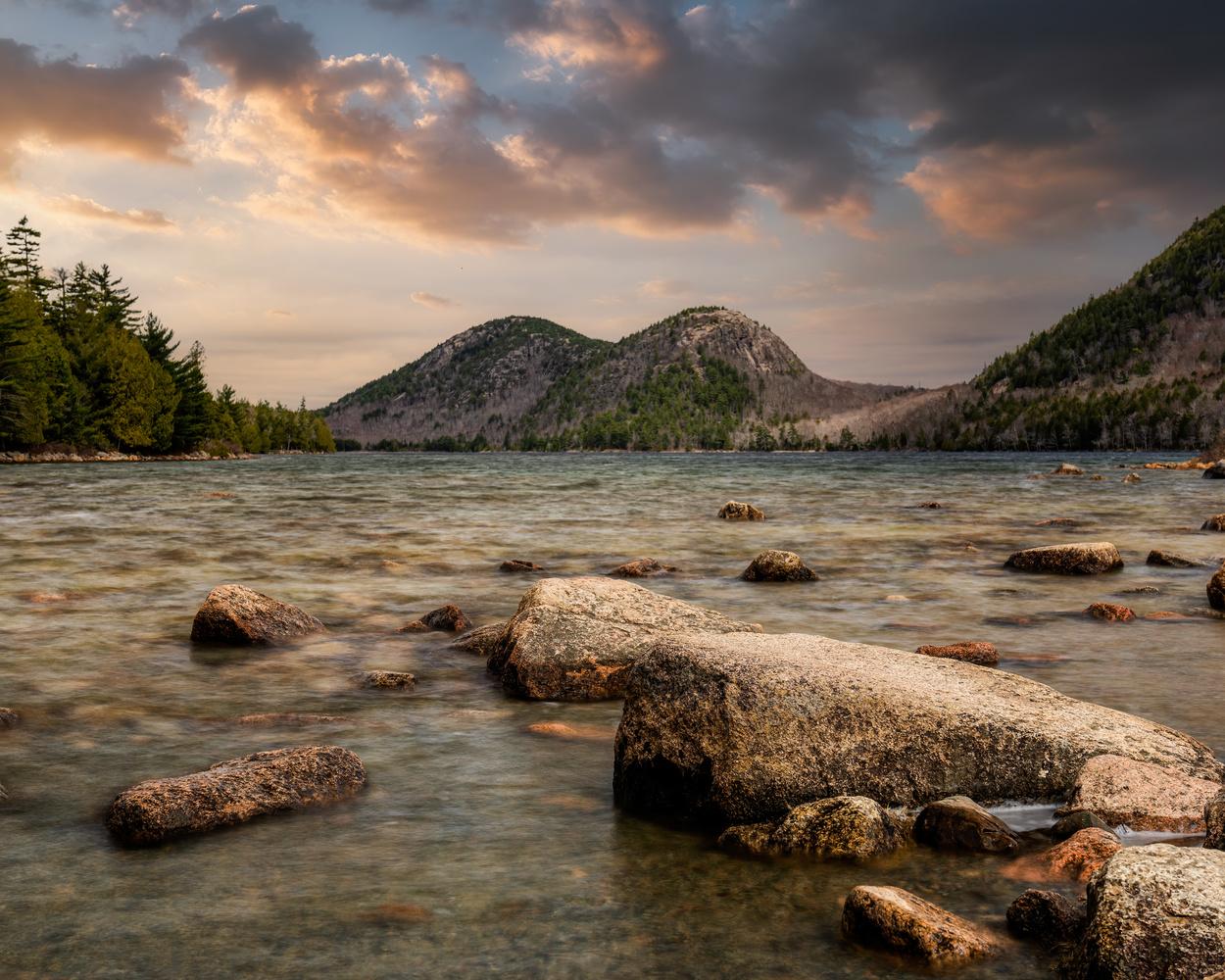 Jordan Pond, Acadia National Park, Maine USA by Skyler Ewing