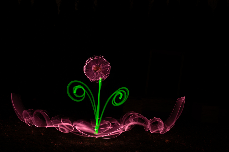 Light painting by Skyler Ewing