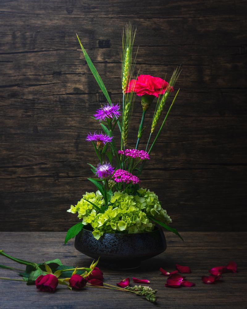 Flower arrangement I made by Skyler Ewing