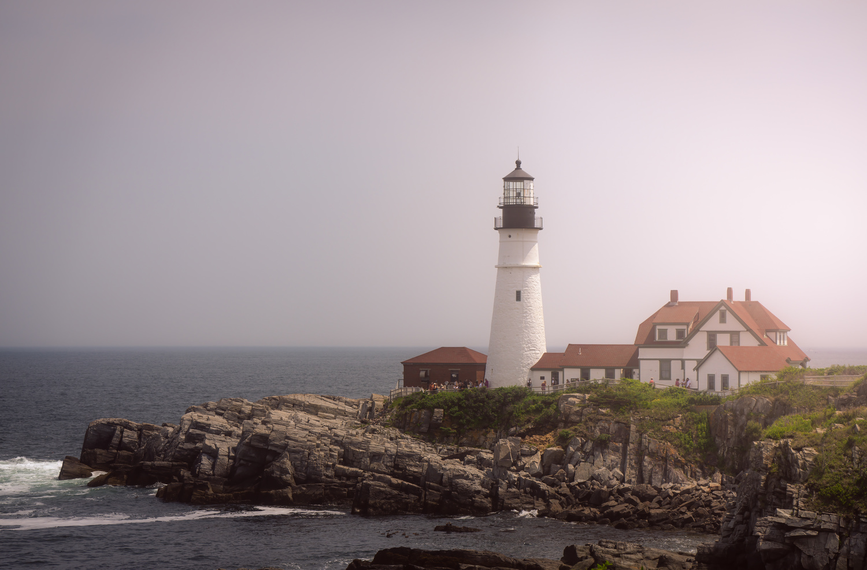Portland lighthouse, Maine by Skyler Ewing