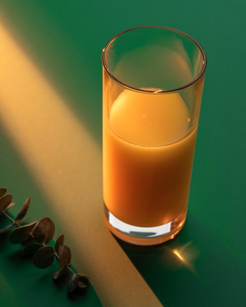 Orange juice by Skyler Ewing