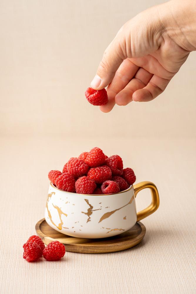 Raspberries by Skyler Ewing