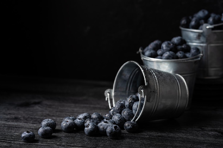 Blueberries by Skyler Ewing