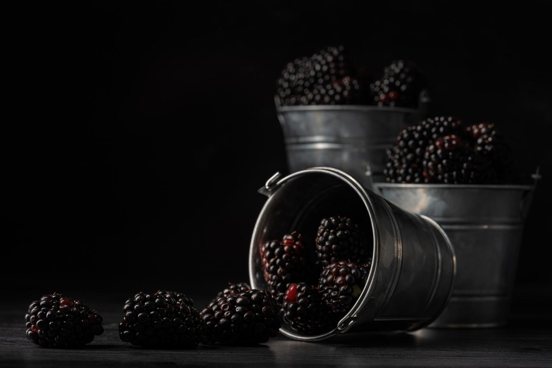Blackberries by Skyler Ewing