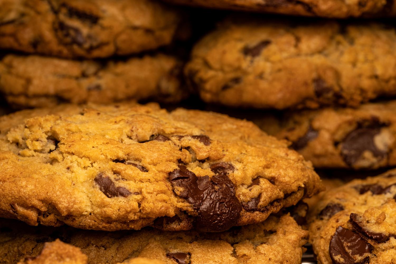 Chocolate chip cookies by Skyler Ewing