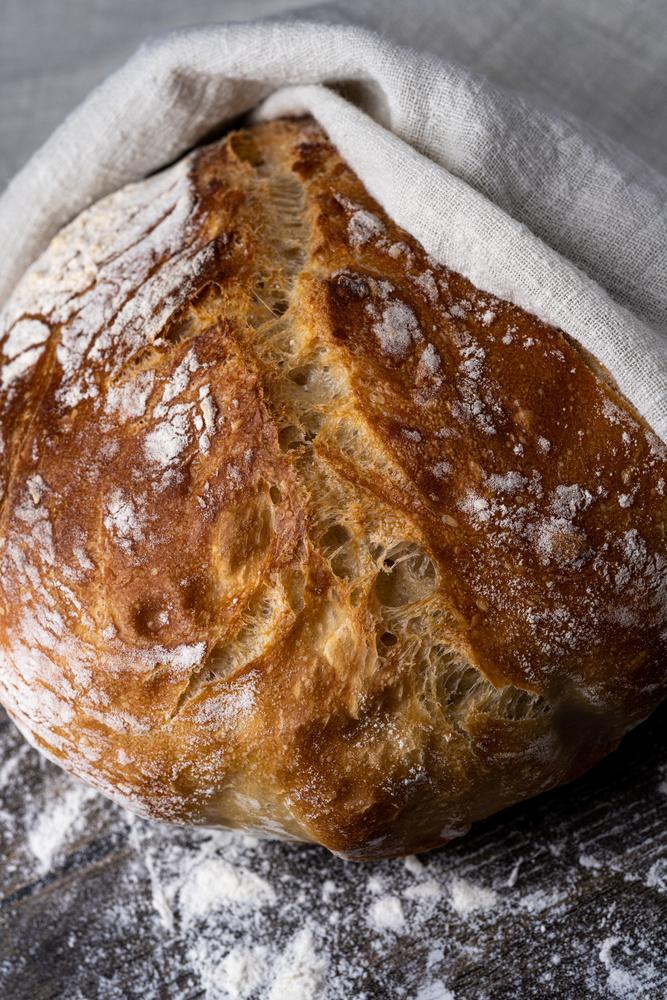 Homemade bread by Skyler Ewing