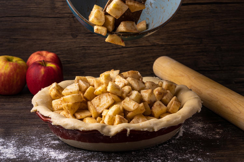 Apple pie by Skyler Ewing