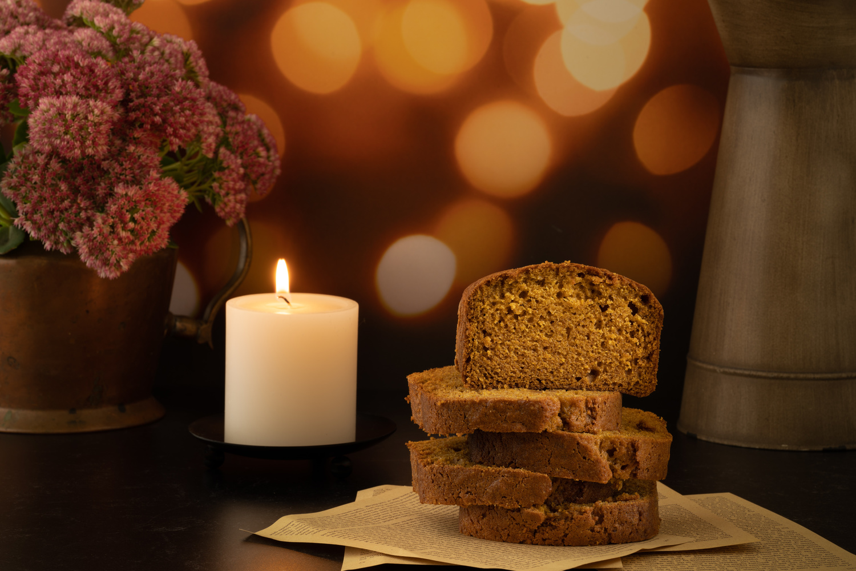 Pumpkin bread by Skyler Ewing