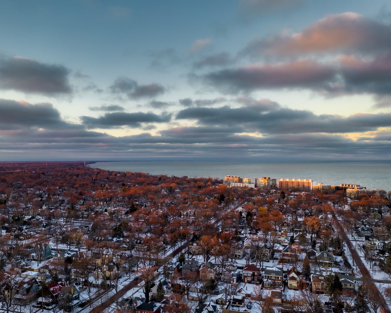 Drone shots by Skyler Ewing