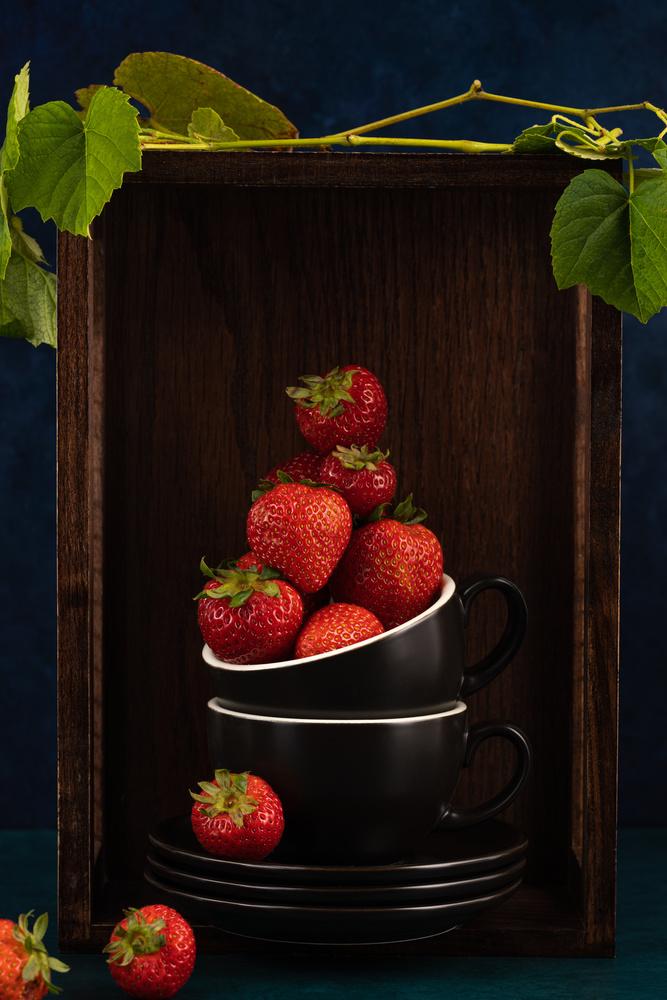 Strawberries by Skyler Ewing