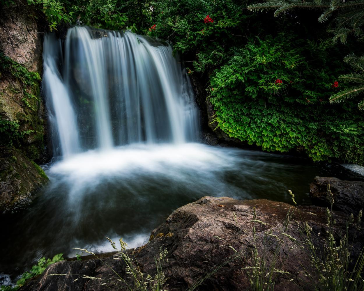 Waterfall by Skyler Ewing