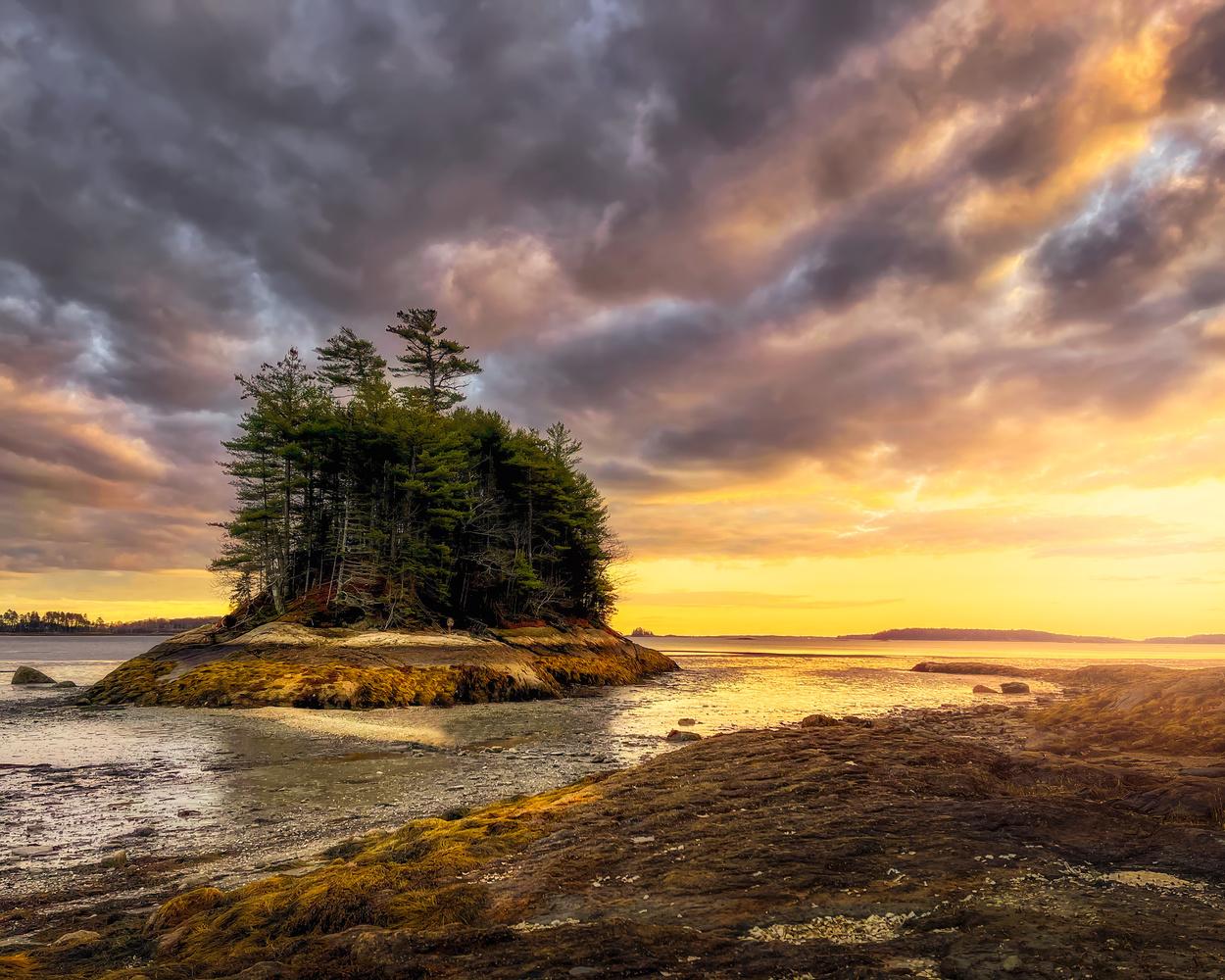 Wolfs neck, Maine by Skyler Ewing