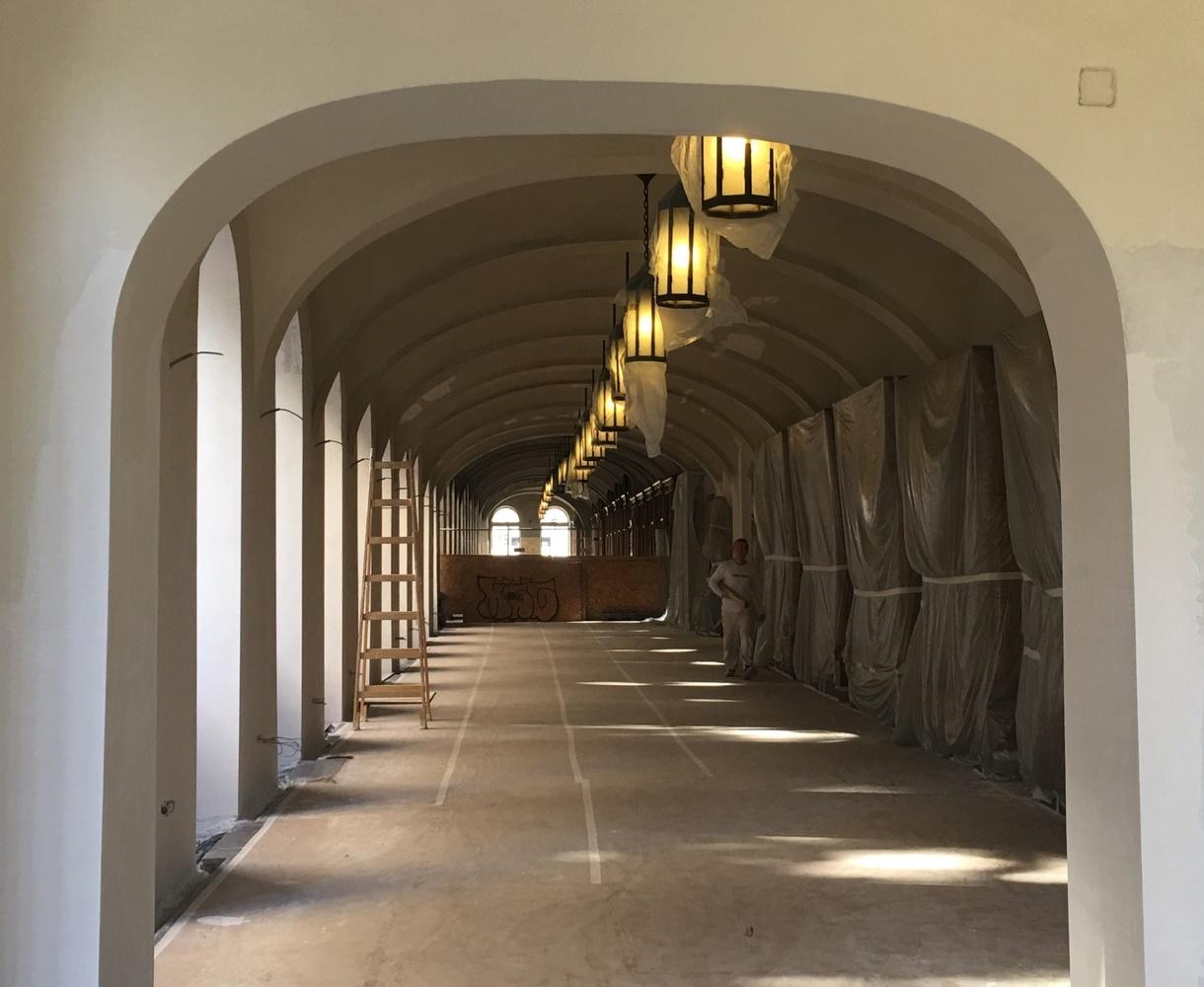 Hungarian Hallway by Brendan Roberts