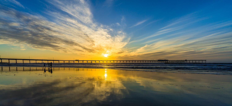 Ocean Beach Pier, San Diego, California by Ryan Fulkerson