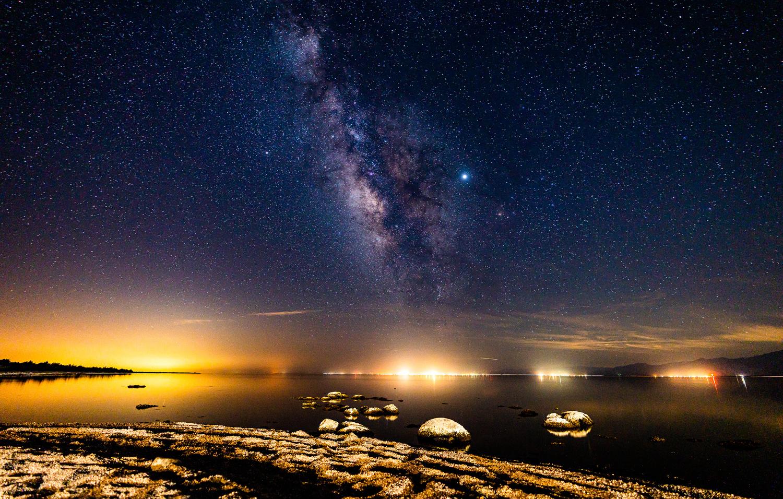 Milky Way, Salton Sea, California by Ryan Fulkerson