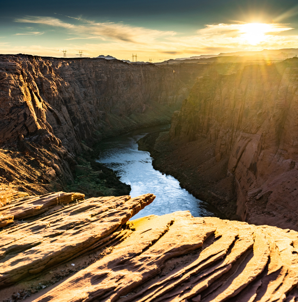 Glen Canyon area of Grand Canyon, Arizona USA by Ryan Fulkerson