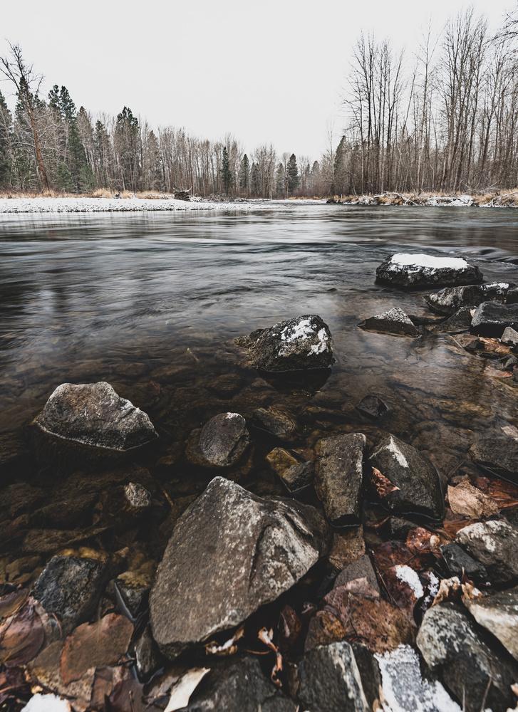 Yakima River near Ellensburg, Washington State by Ryan Fulkerson