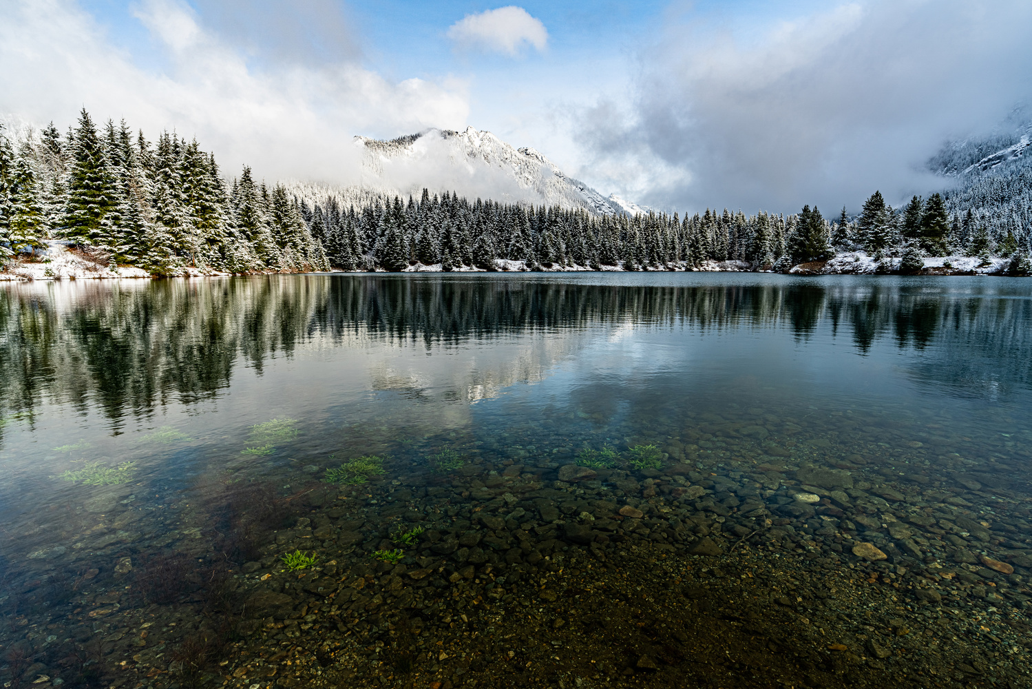 Snoqualmie Pass, Washington State by Ryan Fulkerson