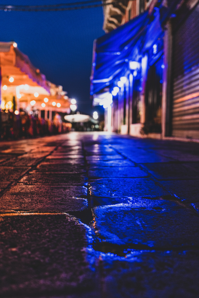 Venice Italy at night by Ryan Fulkerson