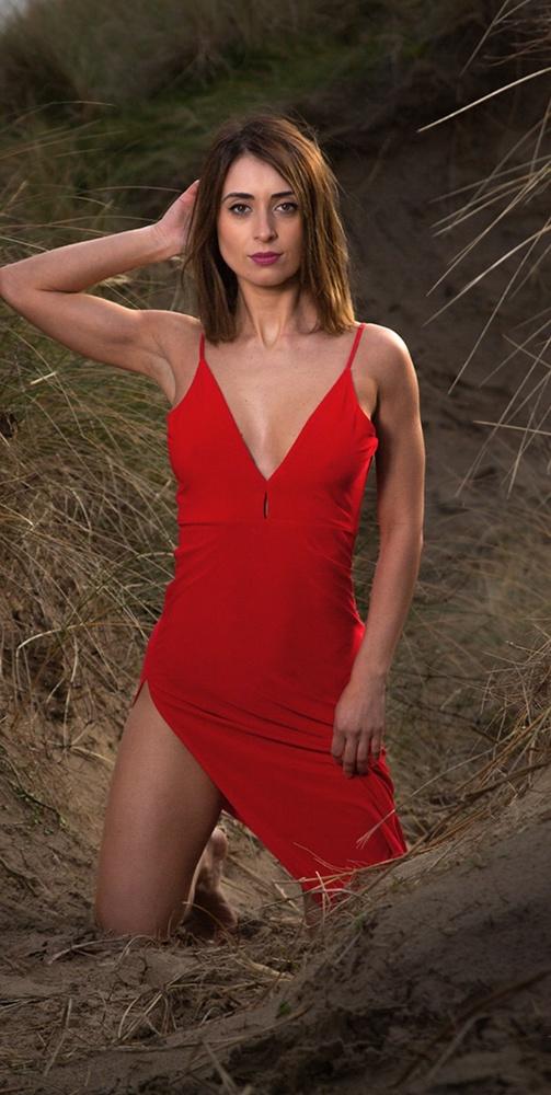 Irish girls do wear red by David Albutt