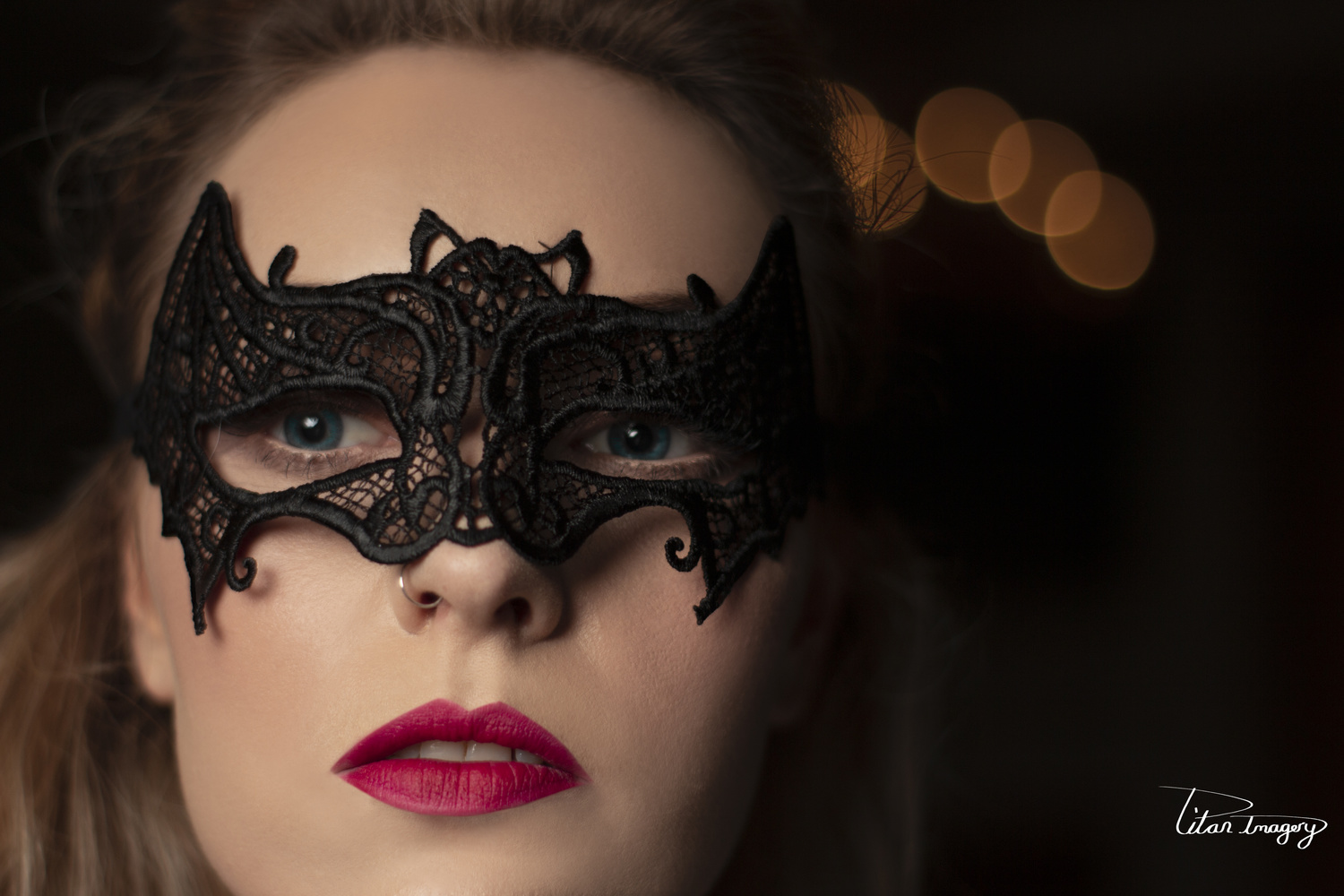 Behind the mask by David Albutt