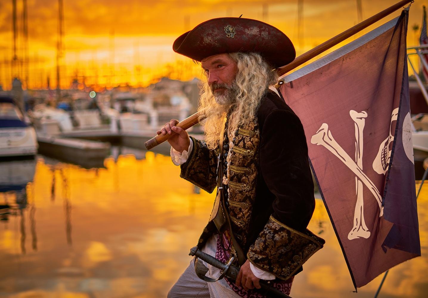 Pirate sunsets by Josh Tomsha