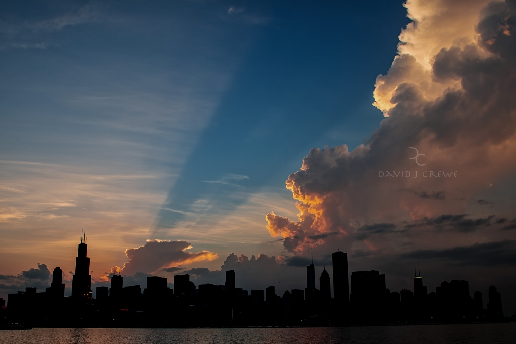 Chicago Ablaze by David J. Crewe