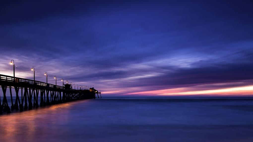 Mission Beach by David J. Crewe