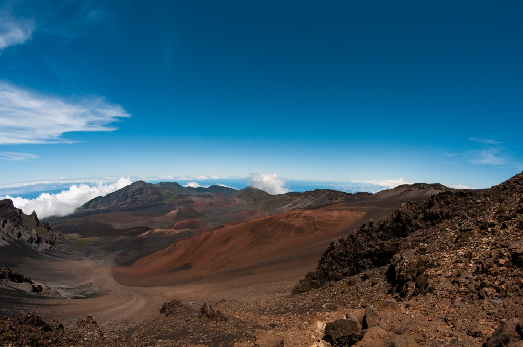 Mount Haleakala by David J. Crewe