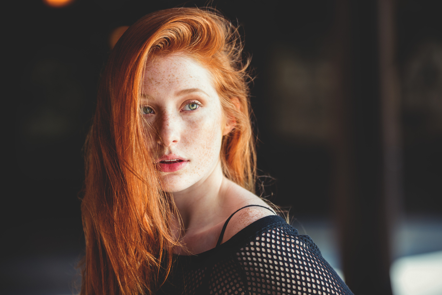 Madeline Ford by David J. Crewe
