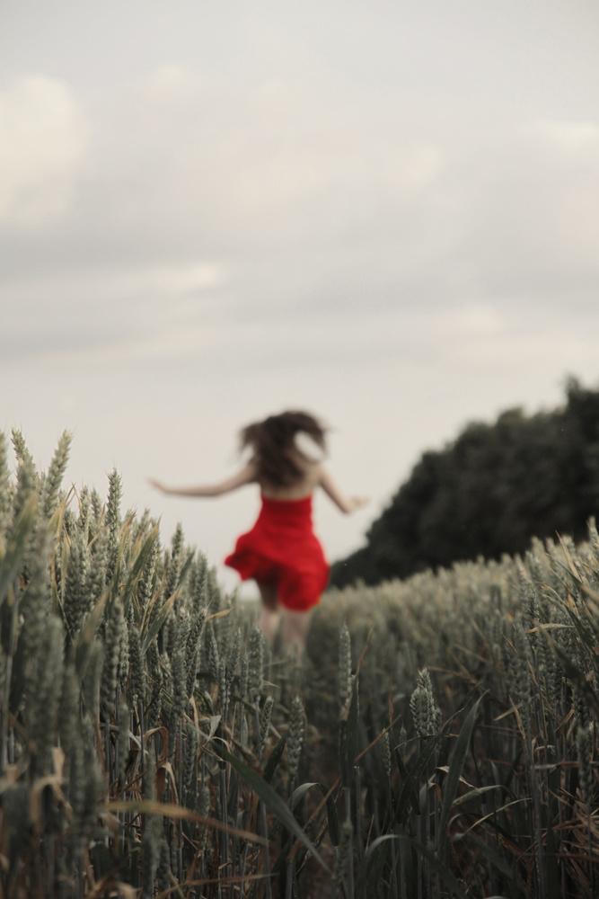 Running Girl by Chris Paloma