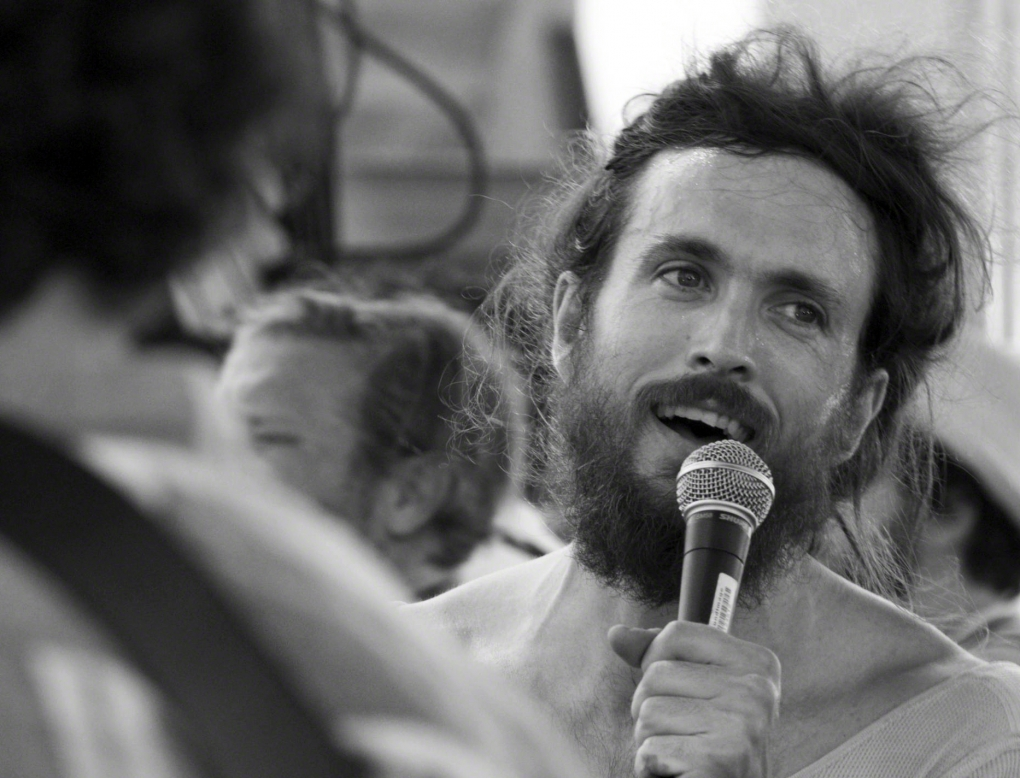 Alex Ebert of Edward Sharpe & The Magnetic Zeros by Steven Williams