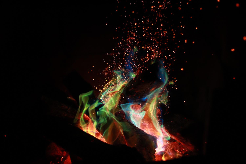 Fan your flames by Mariah Florez-MacInnis