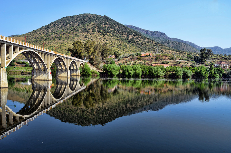 A bridge over portuguese water by Rod Collett